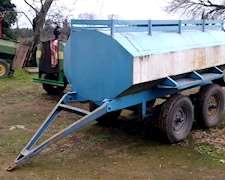 Tanque De Agua 3000 Litros Para Apoyo Pulverizador