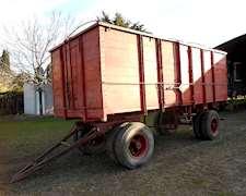 Acoplado Cerealero Cerrado 20 Ton. Rosso Leone