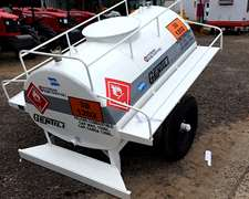 Acoplado Tanque 1500 Lts P/gasoil Homologado Ypf