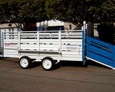 Acoplado Tcf Para Cerdos Modelo 3000 - 3500