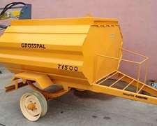 Vendo Tanque Grosspal 1500 Lts