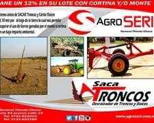 Saca Troncos - Corta Raices - Entierra Mangueras