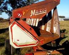 Maicero Maizco 10 Surcos A 52, 5 Cm. Carro - Muy Bueno.