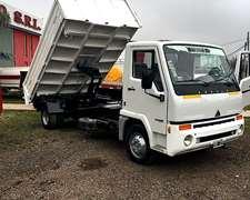 Camion Agrale 8500 Con Batea Trivuelco Permutamos