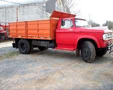Camion Con Volcadora Dodge