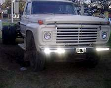 Ford 7000 Motor Mercedes 1518