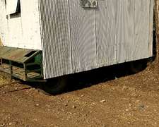 Casilla Rodante Rural 4mts