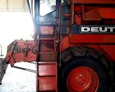 Cosechadora Deutz Fahr M1322h Muy Buena