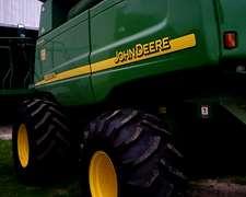 John Deere 9650, Motor Reparado A 0 Hs