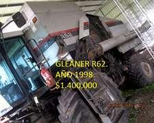 Me Venden Cosechadora Gleaner R-62, 4x4, Aproveche.
