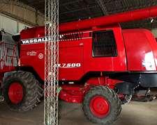 Cosechadora Vasalli 7500 Doble Tracc.