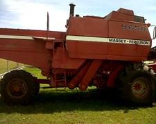 Cosechadora Arrocera Massey Ferguson 5650 Año 1992