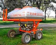Fertilizadora Gimetal Edr 3000 Bidisco - Impecable