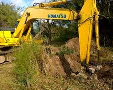Excavadora Komatsu Pc 160 Lc-7