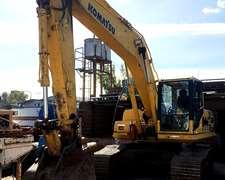Excavadora Komatsu Pc 200, Año 2007 Con 10.900 Horas