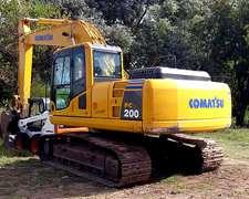 Excavadora Komatsu Pc 200 8