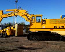 Excavadora Tortone To-370 Impecable