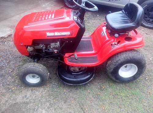 Tractor cortacesped mtd yard machines a o 2006 agroads - Tractor cortacesped mtd ...
