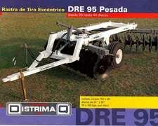 Rastra Tiro Exce. Dre-95. Distrimaq. De 16 A 44 Discos.