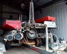 Autotrailer Brioschi 12 A 52 Con Fert. Lateral