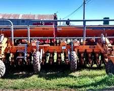 Sembradora Agrometal Tx Mega. 16 A 35 Cm. Grano Grueso.