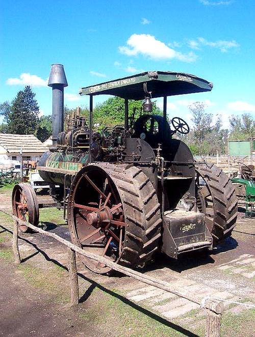 Tractor Antiguo A Vapor Clayton
