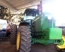 Tractor, John Deere 4455, Americano, Recomendable