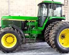 Tractor John Deere 4960 Año 94