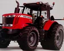 Tractor Nuevo Mf 7624