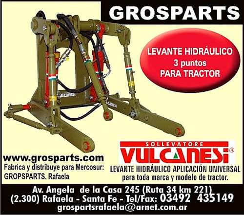 Tractor Levante Tres Puntos Para Cualquier Modelo
