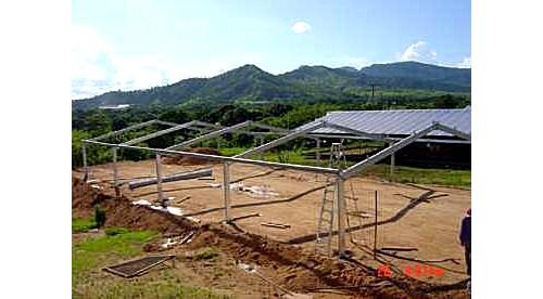 Galpones Tinglados Para Pollos Estructura Metalica $750