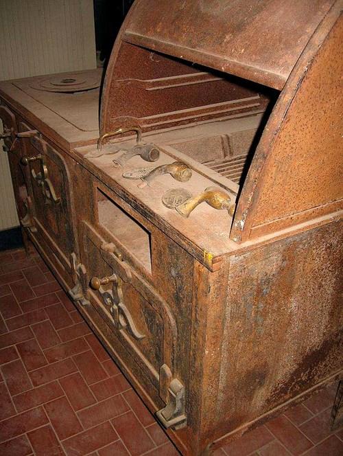 Cocina a leña c/3 hornos: antiguedad   agroads