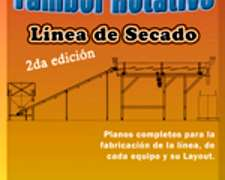 secador de tambor horizontal planos completos linea secado