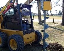 Hoyadora Hidraulica Para Adaptar A Minicargadoras