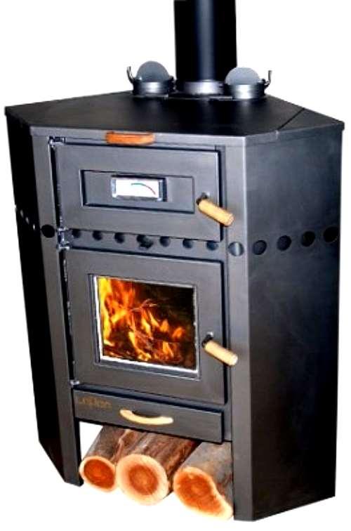calefactor a lea lepen rinconero con horno