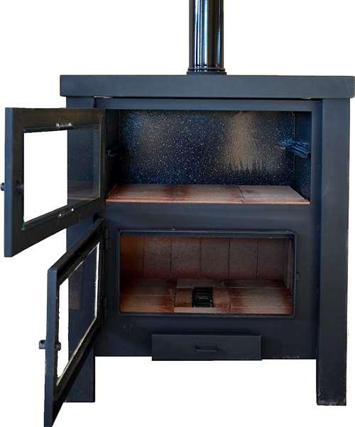 Salamandra estufa calefactores a le a bajo consumo agroads for Estufa lena salamandra