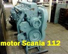Vendo Motor Scania 112 Reparado