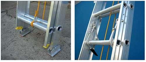 Escalera de aluminio extensible agroads cod 481434 for Precio de escalera extensible de aluminio