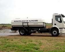 Camión Regador Argenplast 8.000 Y 10.000 Litros