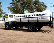Equipo De Riego Para Camión.tanque 10.000 Lts. Prfv.
