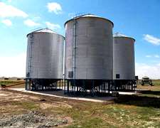 Colonia Menonita.silos Aereos La Pampa
