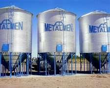 Silos Aereos Metalmen 50 Tn $ 42.000 Colonia Menonita