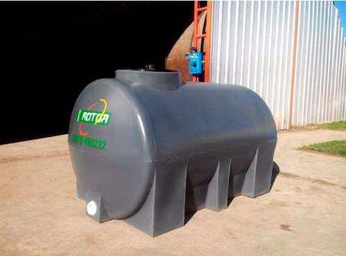 Tanque pl stico horizontal rotor litros for Tanque hidroneumatico 100 litros