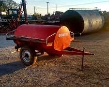 Acoplado Tanque Para Combustible Gentili De 1500 Litros