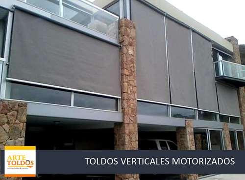 Toldos verticales motorizados con somfy agroads for Toldos motorizados