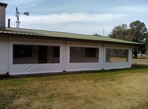 Cerramientos de lona pvc para estancias casas de campo - Cerramientos de casas ...