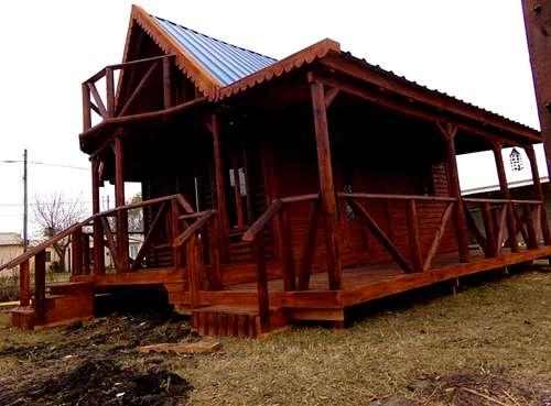 imagenes de cabaas de madera