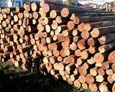 Poste Quebracho Colorado 2,20 2,403m Xmayor/menor Viga