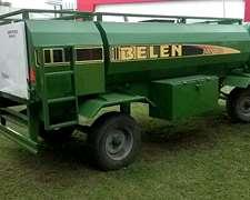 Acoplado Cisterna Belen 3000 Lt - 0 Km - Disponible