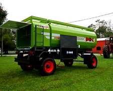 Acoplado Tanque 2000-3000-4000 Lts